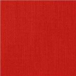 Premium Broadcloth Red Fabric