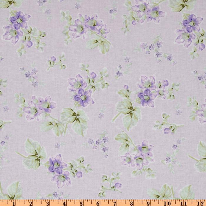 Treasures by Shabby Chic Wildflowers Medium Floral Lilac