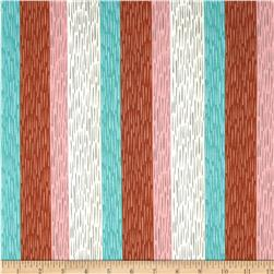 Cotton & Steel Homebody Paneling Stripe Orange