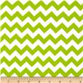 Riley Blake Knit Chevron Small Lime