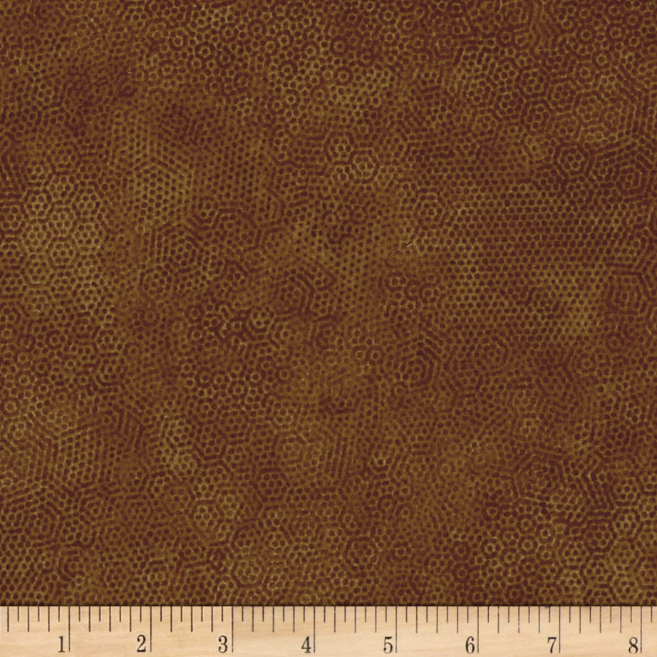 Andover Dimples Kindling Fabric