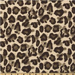 Premier Prints Dayo Leopard Blend Italian Brown