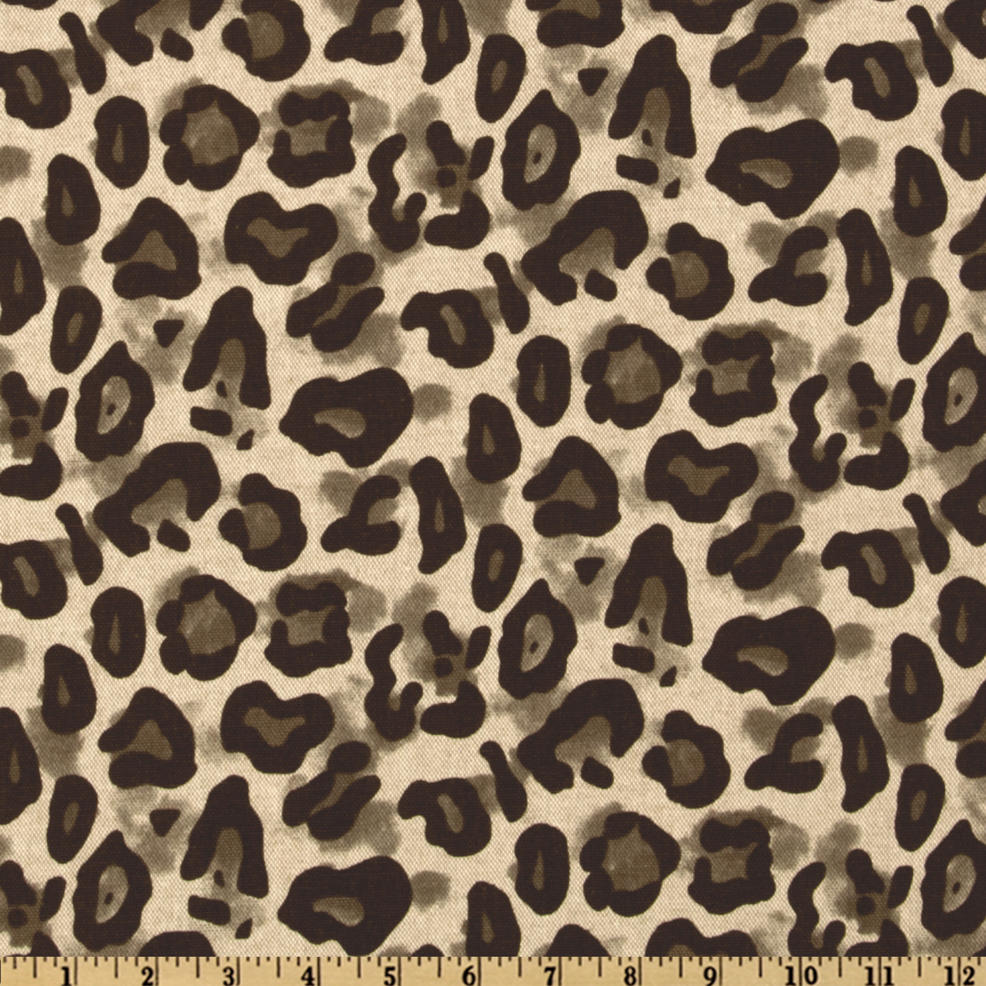 Premier Prints Dayo Leopard Blend Italian Brown Fabric