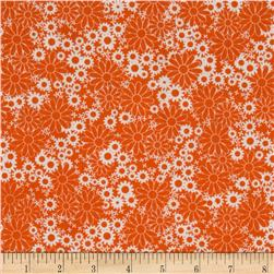 Baby Talk Splash Floral Orange/White