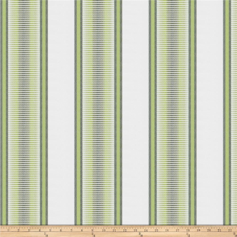 Kendall Wilkinson Indoor/Outdoor Jacquard Sunset Stripe Grass