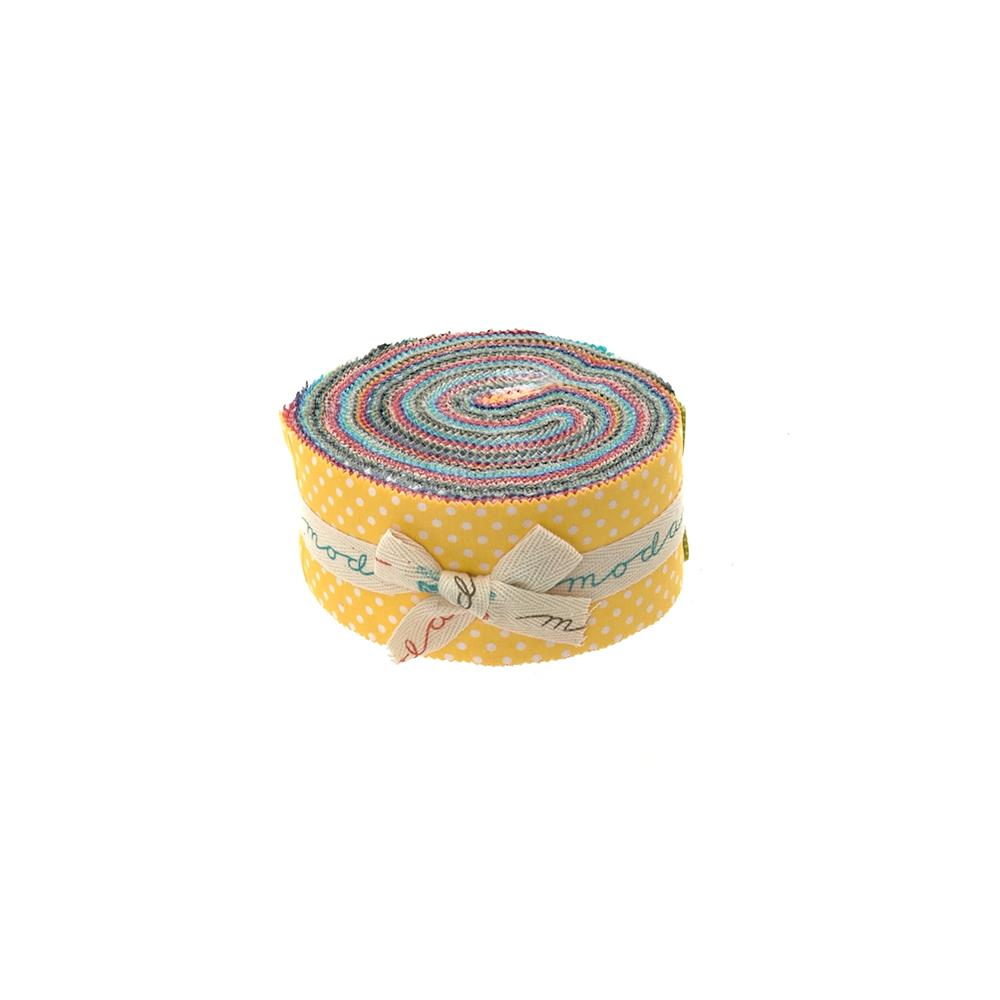 Moda Dottie 2 1/2'' Jelly Rolls Multi