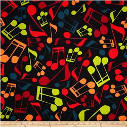 Jazz Jam Large Music Note Multi