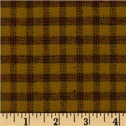 Primo Plaids Flannel Check Brown/Black