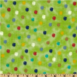 Playtime Dots Green