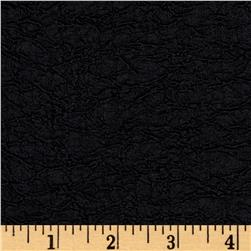 Textured Fancy Crinkle Double Knit Black