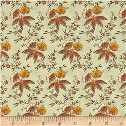 Ophelia Med Floral Cluster Green