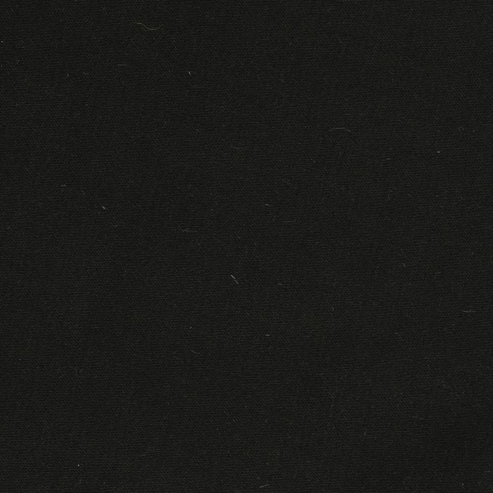 Stretch Cotton Twill Black