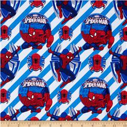 Marvel Ultimate Spiderman Stripes Blue