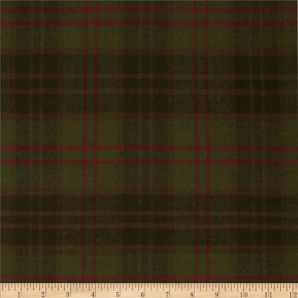Primo Plaids Flannel Christmas II Plaid Plaid Green/Red
