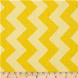 Riley Blake 108'' Wide Medium Chevron Tone on