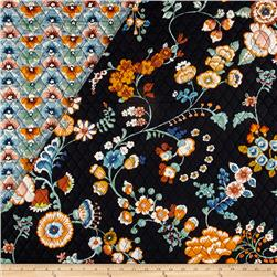 Alexander Henry Double Sided Quilted Bella Strada Fabrizia Blue Multi