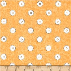 Letter Stitch Buttons Orange