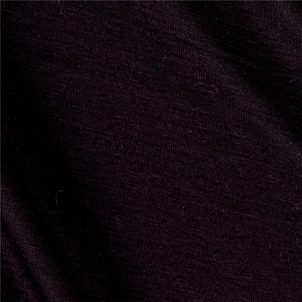 Viscose Jersey Knit Black