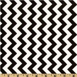 Riley Blake Chevron Small Black Fabric