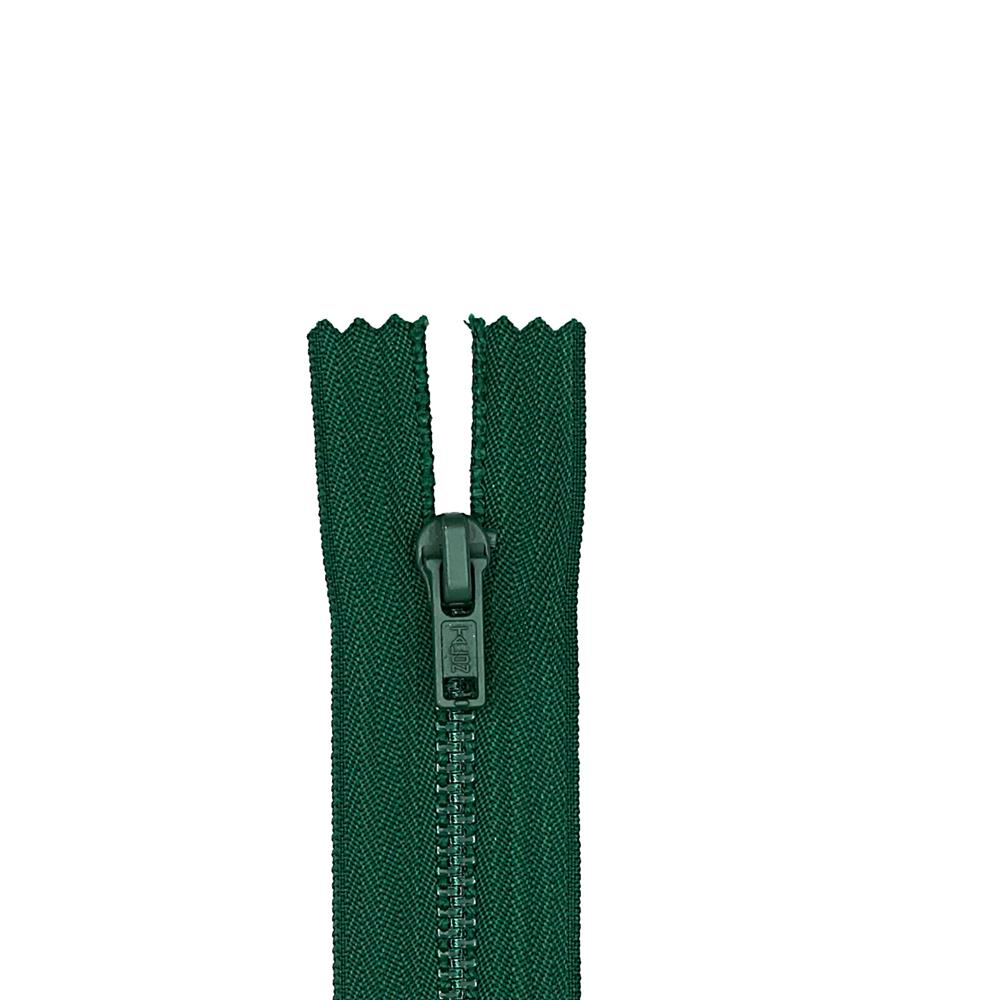 "Metal All Purpose Zipper 7"" Forest Green"