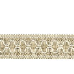 "Fabricut 2"" Beach House Trim Natural"