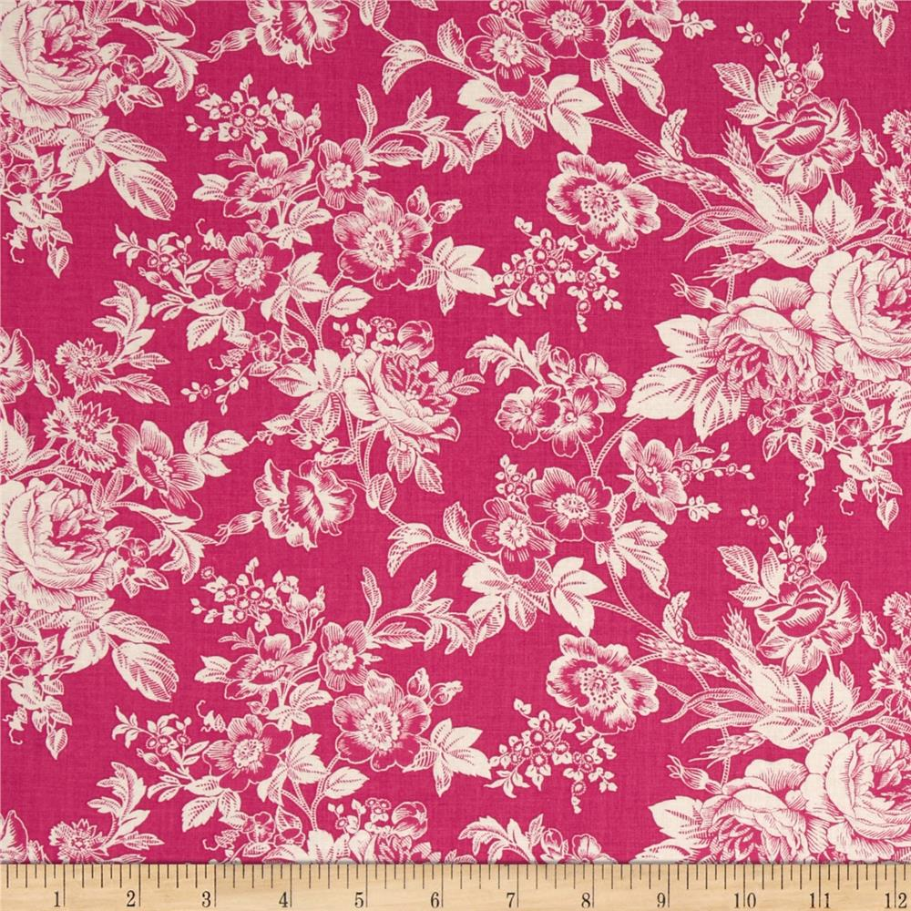Quartette Collection Large Floral Pink