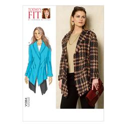 Vogue Misses' Jacket Pattern V1364 Size OSZ