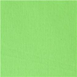 Soft Spun Poly Jersey Knit Neon Green