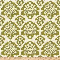 Riley Blake Lost & Found Christmas Damask Green
