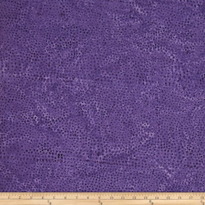 Timeless Treasures Tonga Batik Pinata Spots Purple