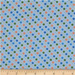 Baby Talk Stars Blue/Multi