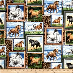 Running Wild Horse Patch Multi
