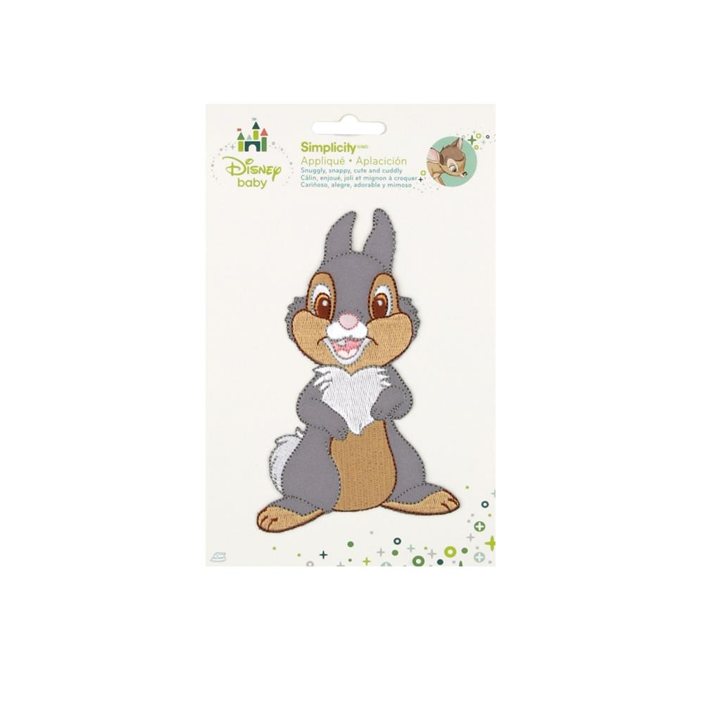 Disney Bambi Iron On Applique Thumper Full Body