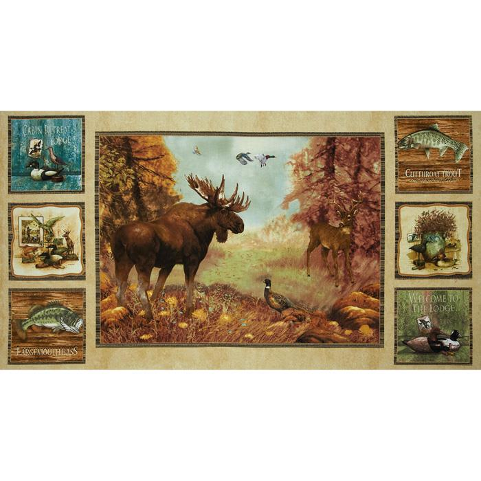 Mountain Woods Panel Multi