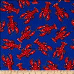 Robert Kaufman Kiss the Cook Lobsters Royal