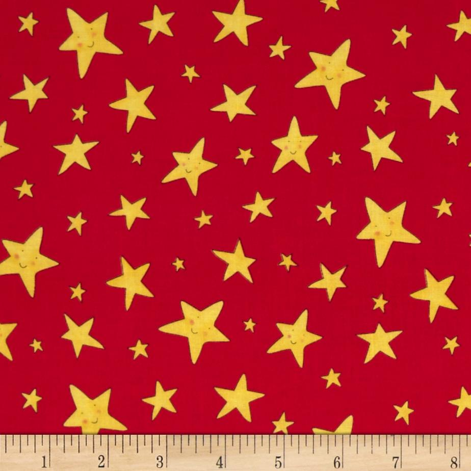 Rhyme Time Stars Red