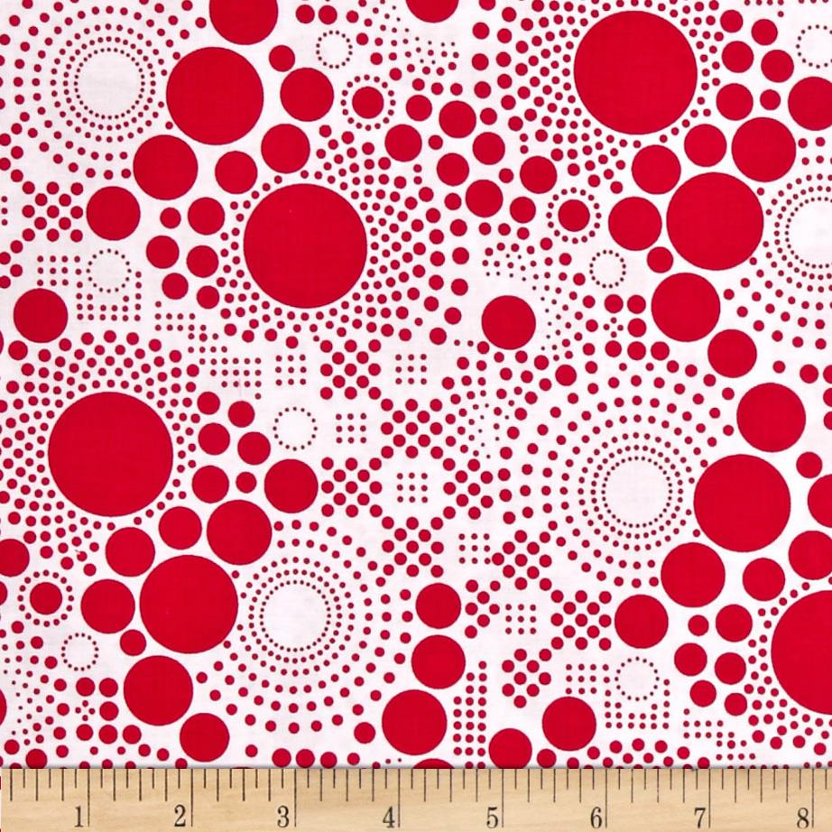 Riley Blake Hipster Pop Dot Red
