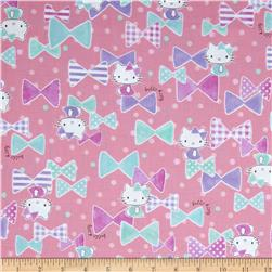Hello Kitty Bows Pink Fabric