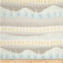 Silent Christmas Tree Scenic Grey/Multi