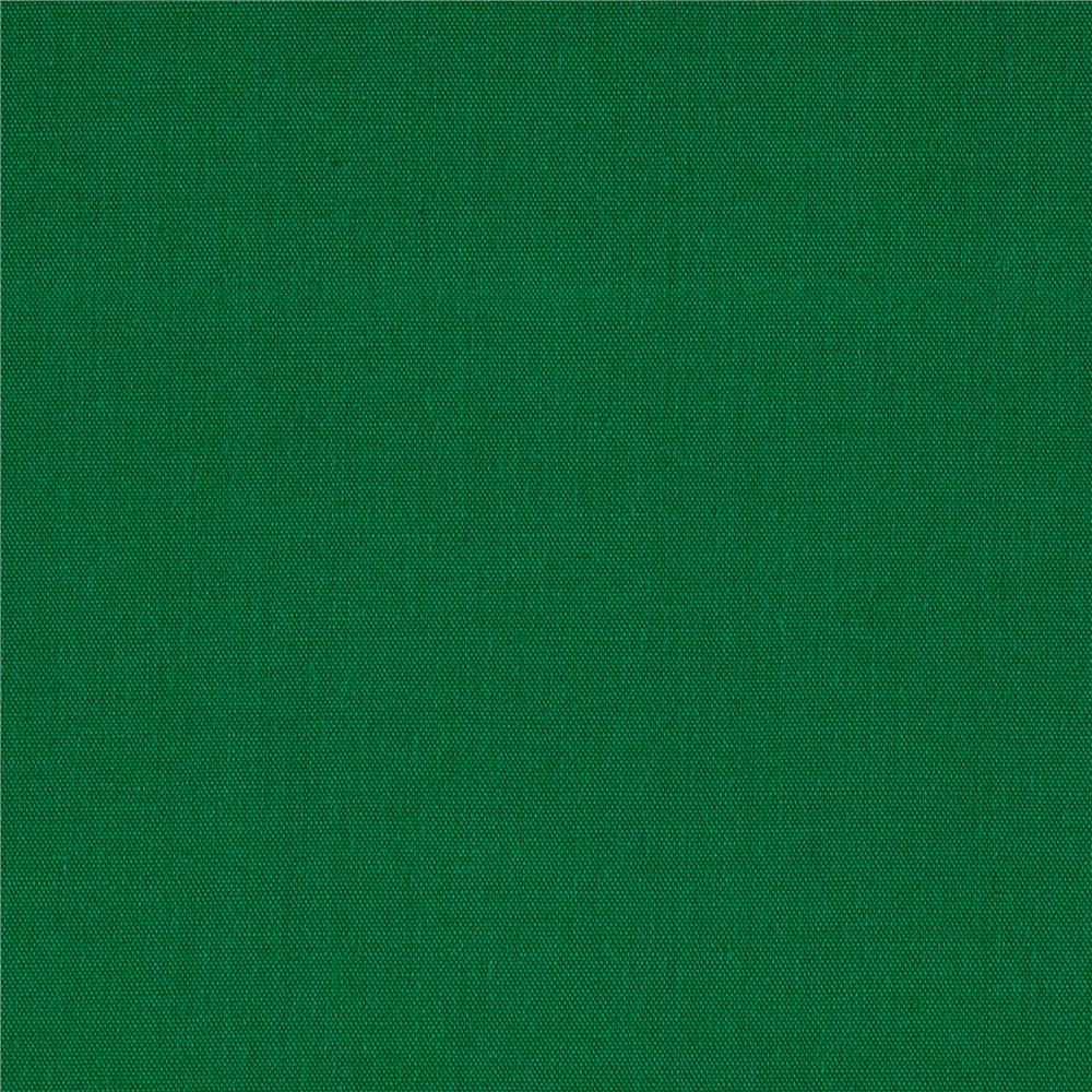 "60"" Poly Cotton Broadcloth Flag Green"