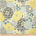 Tempo Indoor/Outdoor Fiona Floral Yellow/Grey