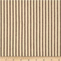 44'' Ticking Stripe Potting Soil Brown