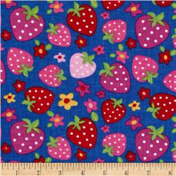 Newcastle Novelties Strawberry Blue Fabric