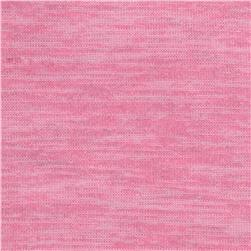 Heathered Hatchi Knit Pink
