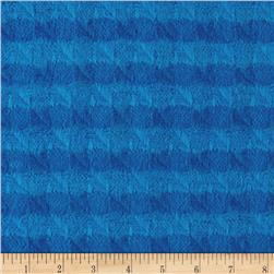 Color Catchers Yarn-Dye Flannel Houndstooth Royal
