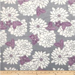 Mar Bella Minky Ibiza Cuddle Violetta Fabric
