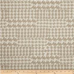 Richloom Pairpoint Houndstooth Jacquard Cement