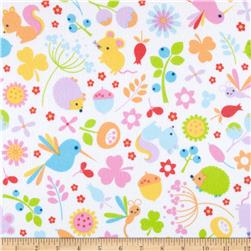 Riley Blake Wildflower Meadow Flannel Main Multi