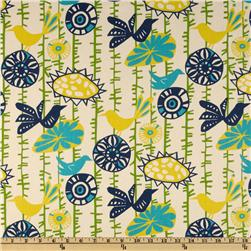 Premier Prints Menagerie Sunshine/Natural Fabric