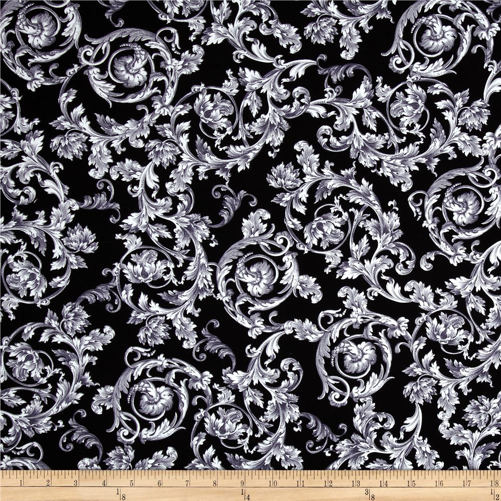 Kanvas To Rome With Love Baroque Black